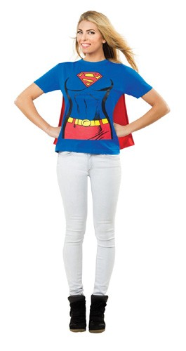 Supergirl T-Shirt With Cape