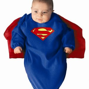 Superman Baby Bunting Costume