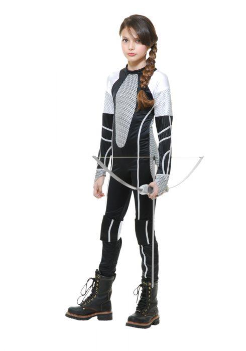 Survivor Jumpsuit Girls Costume