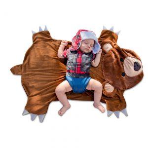 Swaddler Wings Bear Hunter Infant Costume