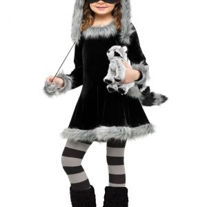 Sweet Raccoon Girls Costume