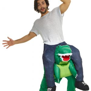 T-Rex Piggyback Men's Costume