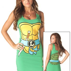 TMNT Leonardo Blue Tank Dress