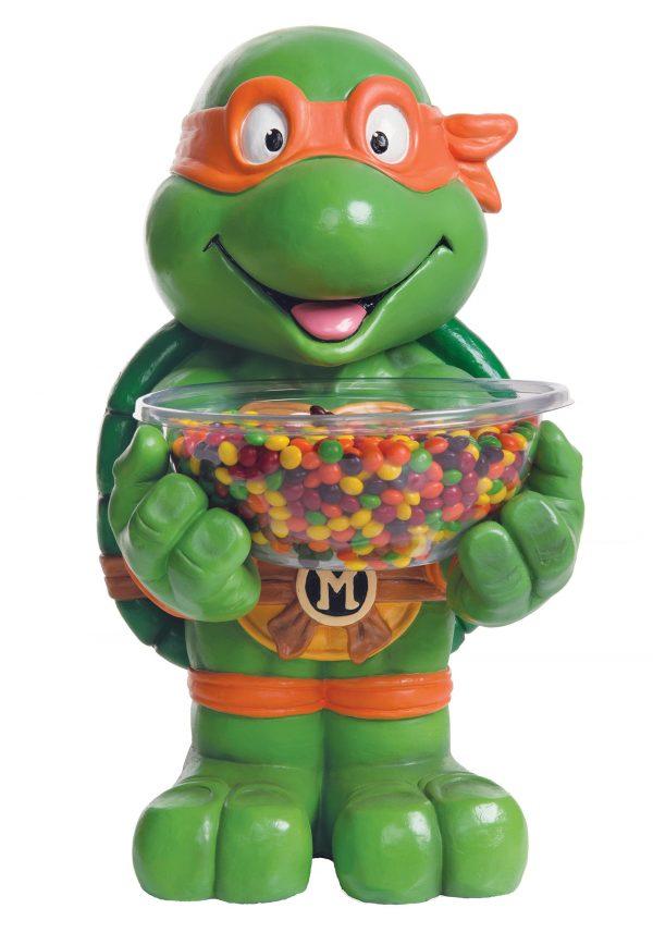 TMNT Michelangelo Candy Bowl Holder