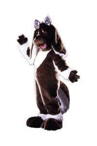 Taffy Dog Mascot Costume
