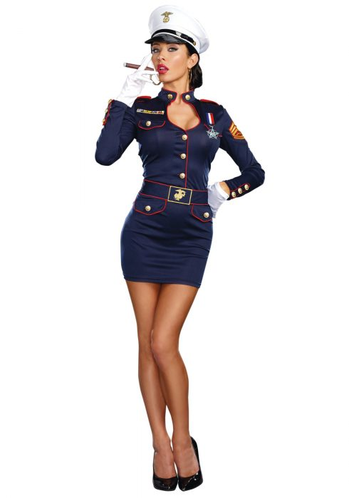 Take Charge Marge Navy Costume