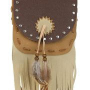 Tan Native Pouch