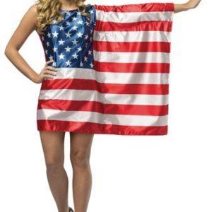 Teen American Flag Dress