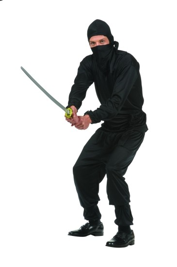 Teen Black Ninja Costume