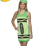 Teen Crayola Crayon Costume - Screamin' Green