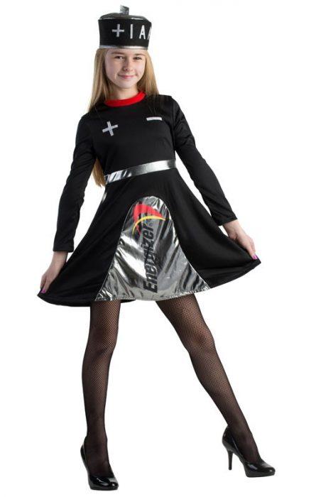 Teen Energizer Battery Dress