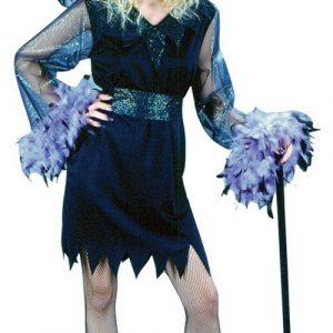 Teen Feather Witch Costume