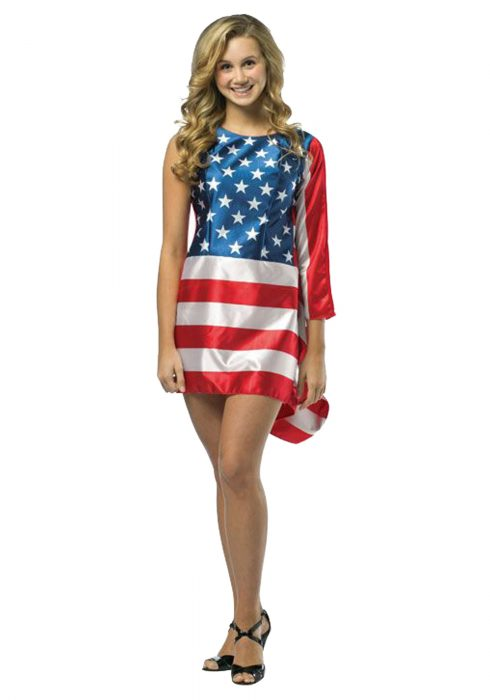Teen Flag Dress