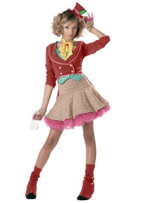 Teen Girls Mad Hatter Costume
