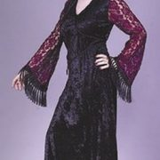 Teen Gothic Lace Vampire Costume
