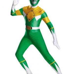 Teen Green Ranger Bodysuit Costume