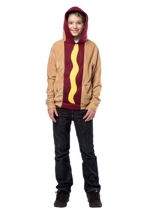 Teen Hot Dog Hoodie