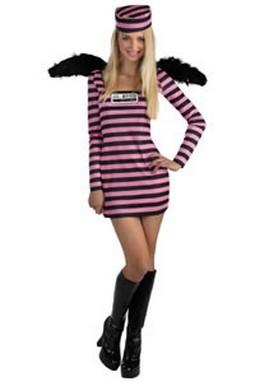 Teen Jailbird Costume