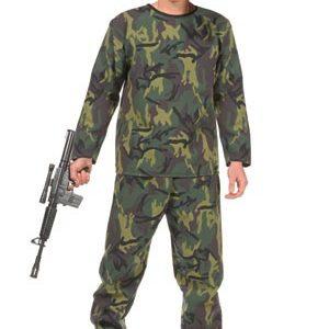 Teen Jungle Soldier Costume