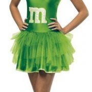 Teen M & M Dress - Green