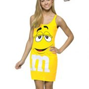 Teen M&M's Yellow Tank Dress
