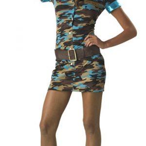 Teen Major Trouble Military Costume