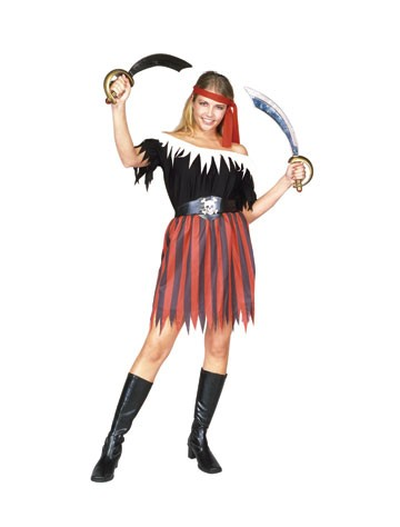 Teen Pirate Girl Costume