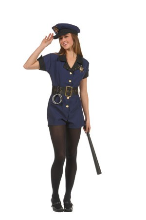 Teen Policewoman Costume