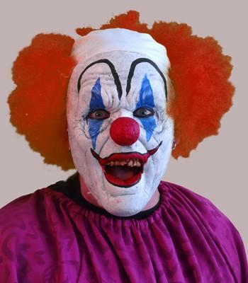 Teen Prosthetic Clown Mask