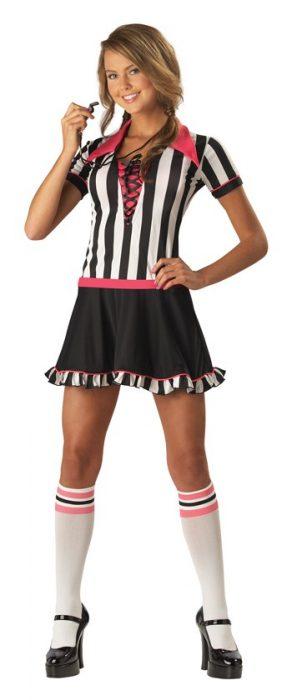Teen Racy Referee Costume