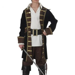 Teen Realistic Pirate Costume