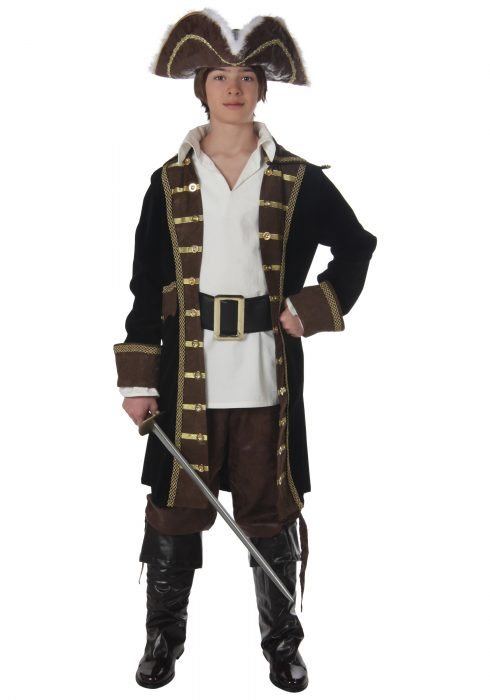 Teen Realistic Pirate Costume
