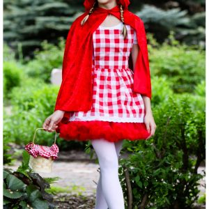 Teen Red Riding Hood Tutu Costume