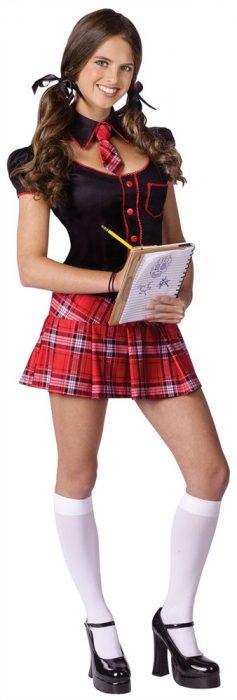 Teen Sexy Schoolgirl Costume