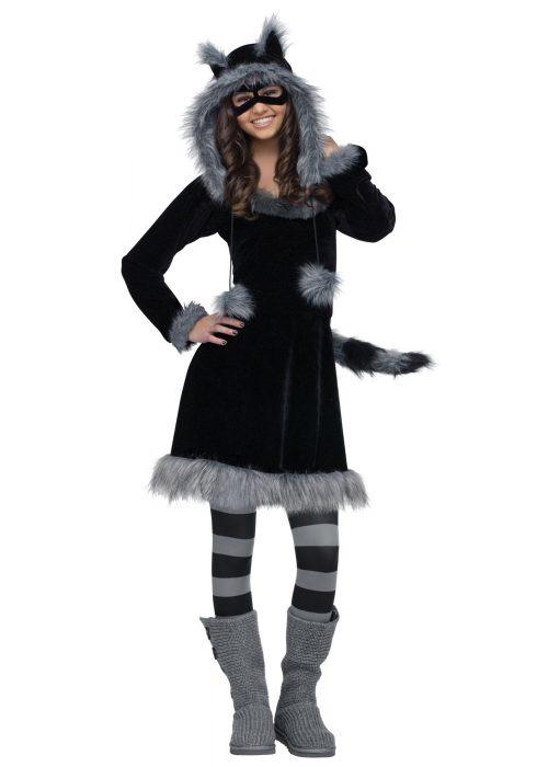 Teen Sweet Raccoon Costume