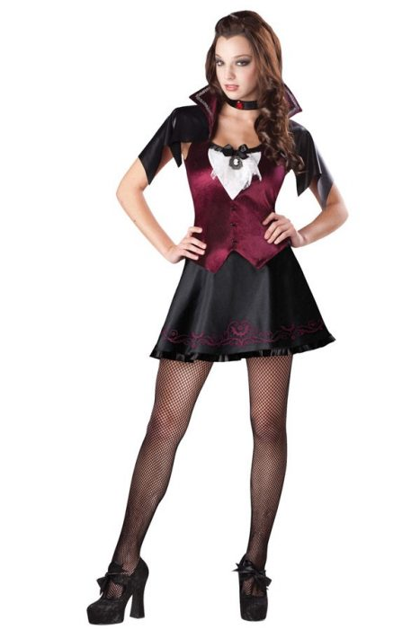 Teen Vampire Costume - Luv at First Bite