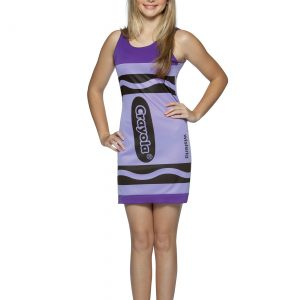 Teen Wisteria Crayon Dress