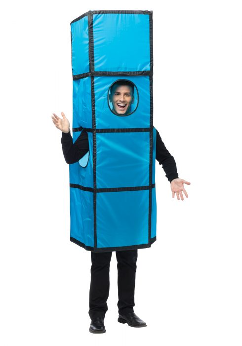 Tetris Blue Costume