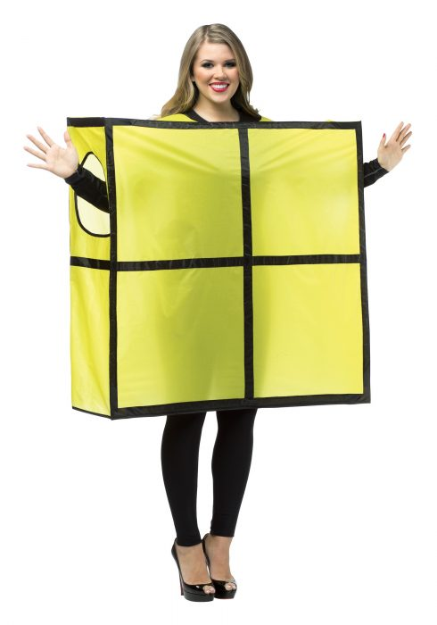 Tetris Yellow Costume