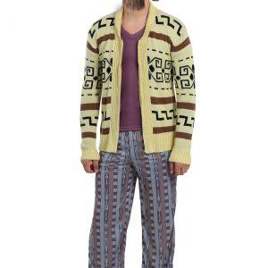 The Big Lebowski The Dude Men's Plus Size Sweater Costume