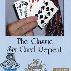 The Classic Six Card Repeat Learn Magic Tricks DVD