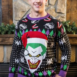 The Joker Holiday Sweater