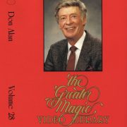 The Magic Of Don Alan Learn Magic Tricks DVD