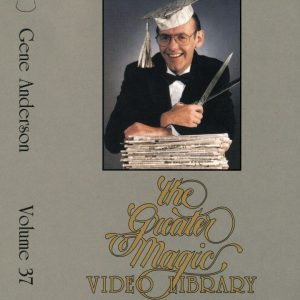 The Magic Of Gene Anderson Learn Magic Tricks DVD