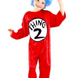 Thing 1 & Thing 2 Kids Costume