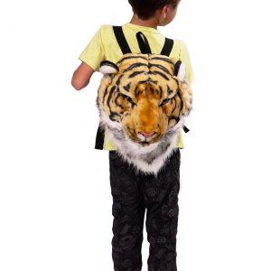 Tiger Animal Head Mini Backpack