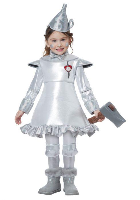 Tin Man Toddler Girls Costume