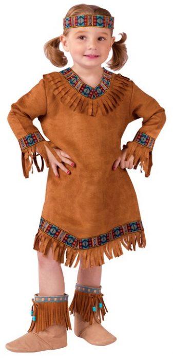 Toddler American Indian Girl Costume