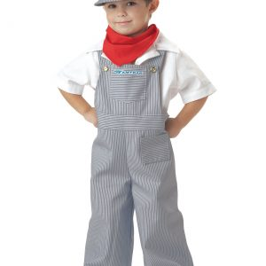 Toddler Amtrak Engineer Costume