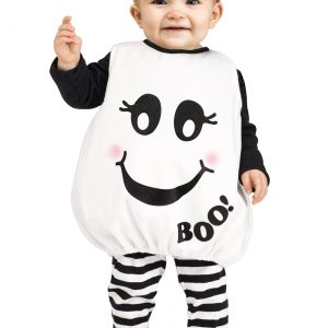 Toddler Baby Boo! Ghost Costume